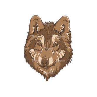 Wild Animals 2 3 Clip Art - SVG & PNG vector