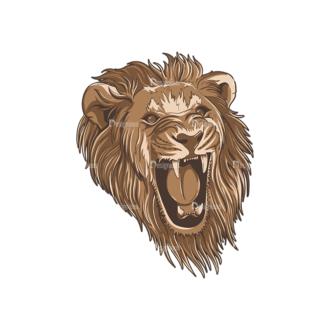Wild Animals 2 6 Clip Art - SVG & PNG vector