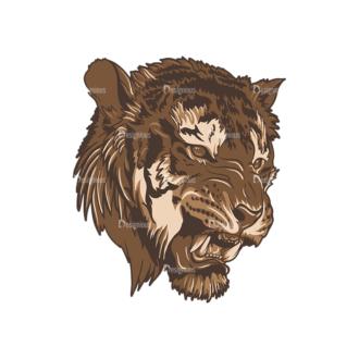 Wild Animals 2 7 Clip Art - SVG & PNG vector