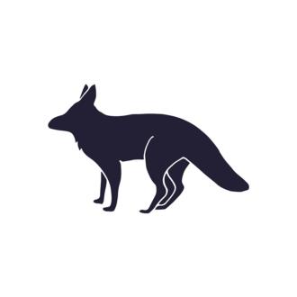 Wild Animals Geometric Vector 2 Vector Fox Clip Art - SVG & PNG vector