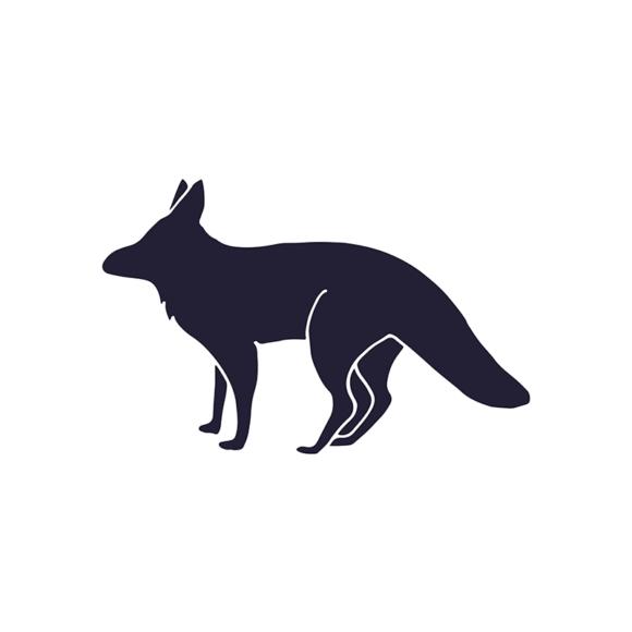 Wild Animals Geometric Vector 2 Vector Fox 1