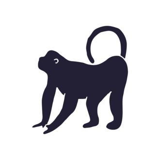 Wild Animals Geometric Vector 2 Vector Gorilla Clip Art - SVG & PNG vector