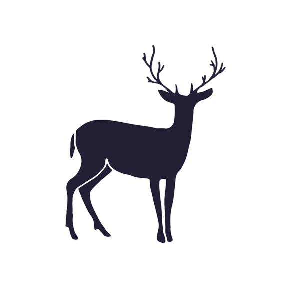 Wild Animals Geometric Vector 2 Vector Reindeer 1