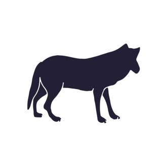 Wild Animals Geometric Vector 2 Vector Wolf Clip Art - SVG & PNG vector