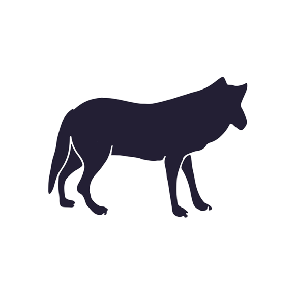 Wild Animals Geometric Vector 2 Vector Wolf 1