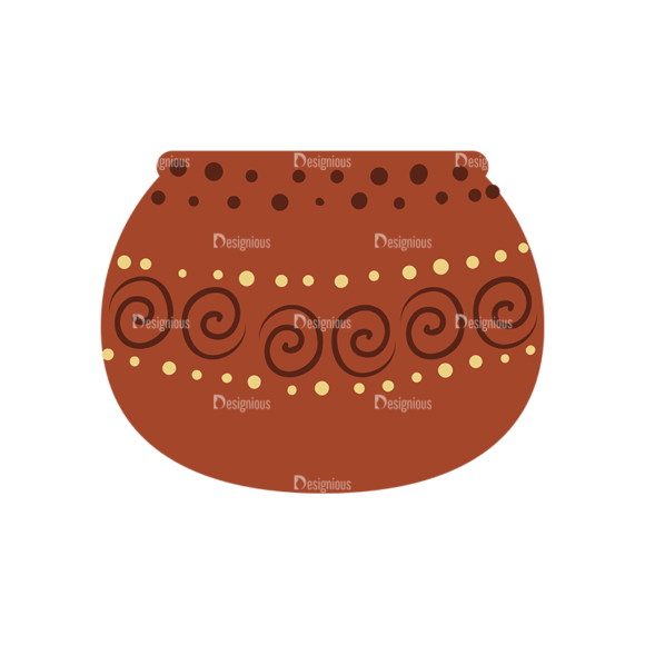 African Elements Pot Clay 5