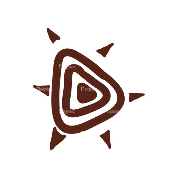 African Elements Symbol 07 Clip Art - SVG & PNG vector