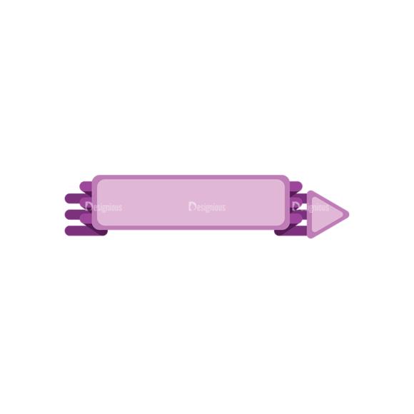 Arrow Pointers 08 Clip Art - SVG & PNG vector