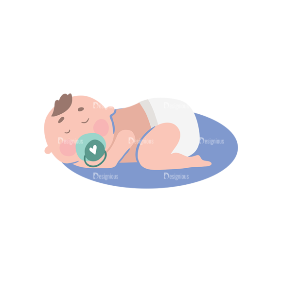 Babies Baby 05 Preview Clip Art - SVG & PNG vector