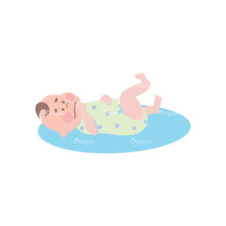 Babies Baby 06 Preview Clip Art - SVG & PNG vector