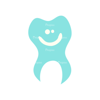 Baby Shower Tooth 09 Preview Clip Art - SVG & PNG vector