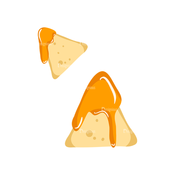 Cinema Nachos With Cheese Preview Clip Art - SVG & PNG vector