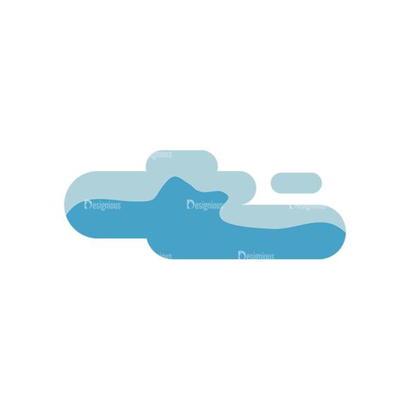 Clouds 1 04 Clip Art - SVG & PNG vector