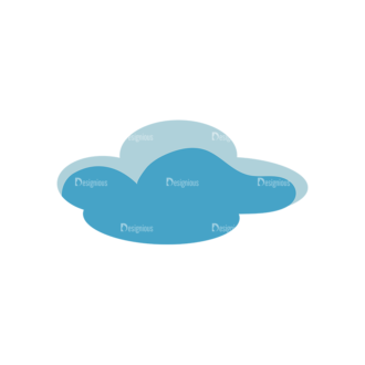 Clouds 1 05 Clip Art - SVG & PNG vector