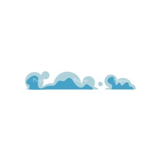 Clouds 1 07 Clip Art - SVG & PNG vector
