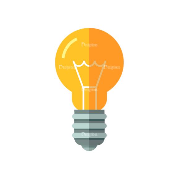 Electricity Bulb Clip Art - SVG & PNG vector