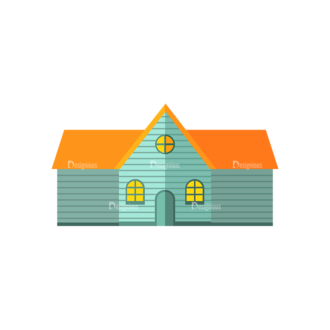 Electricity House Clip Art - SVG & PNG vector
