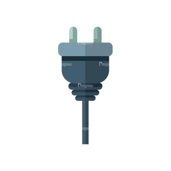 Electricity Plug Clip Art - SVG & PNG vector