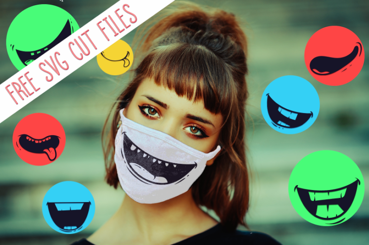 Free Cute Face Masks Svg Designs Designious