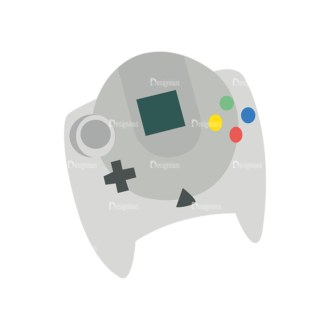 Game Controllers 03 Clip Art - SVG & PNG vector