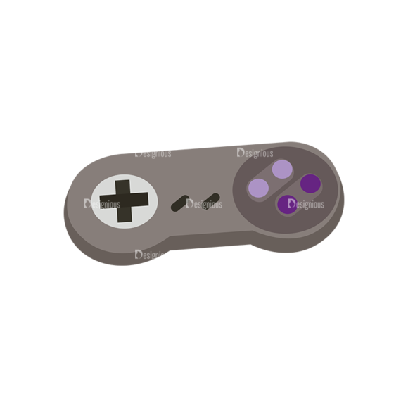 Game Controllers 06 Clip Art - SVG & PNG vector