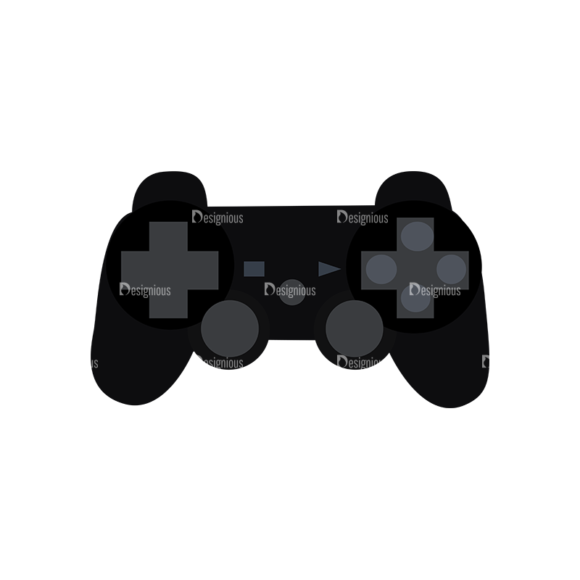 Game Controllers 08 Clip Art - SVG & PNG vector