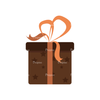Gifts 1 Box 04 Clip Art - SVG & PNG vector