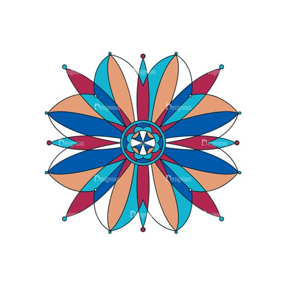 Islamic Motifs 03 Clip Art - SVG & PNG vector
