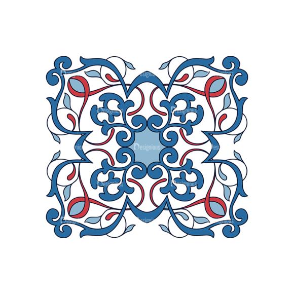 Islamic Motifs 06 Clip Art - SVG & PNG vector
