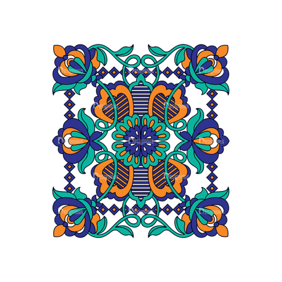 Islamic Motifs 07 Clip Art - SVG & PNG vector