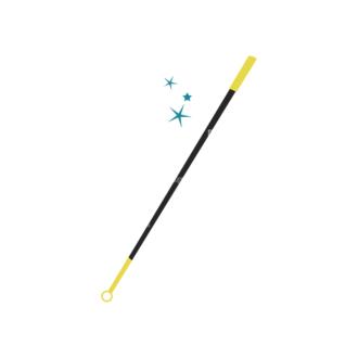 Magic Magic Wand Clip Art - SVG & PNG vector
