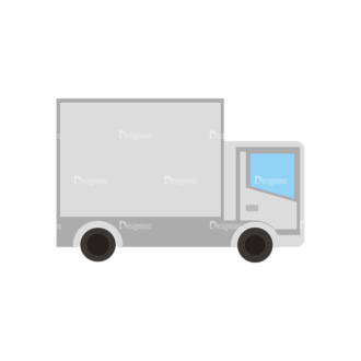 Mail Delivery Delivary Truck Clip Art - SVG & PNG vector