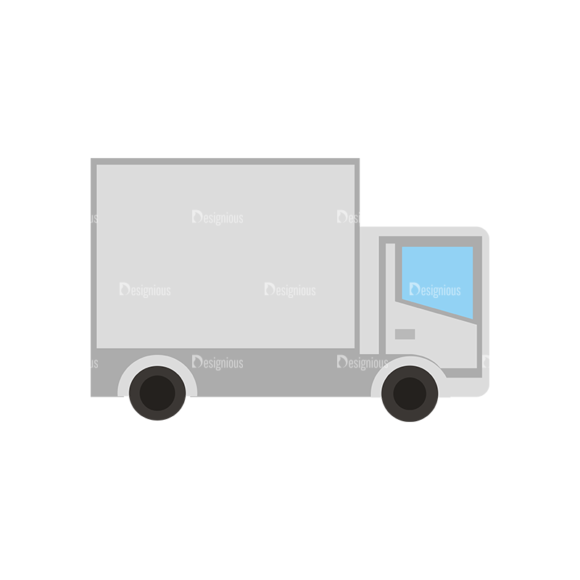 Mail Delivery Delivary Truck Mail Delivery Delivary Truck preview