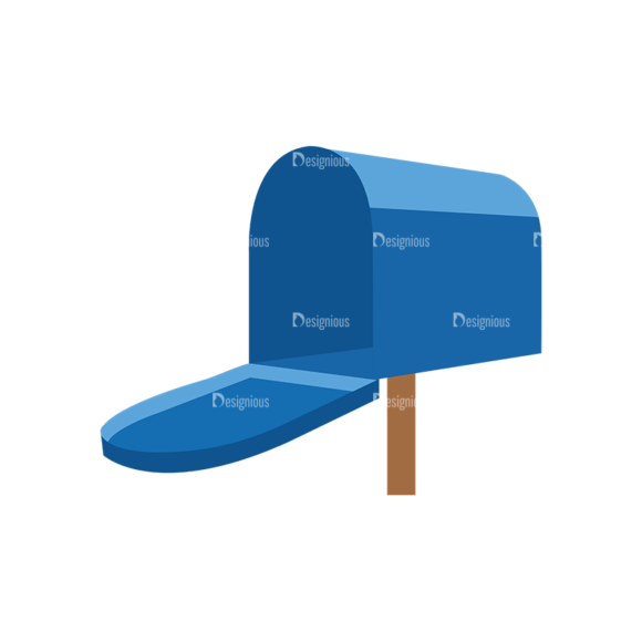 Mail Delivery Mailbox Clip Art - SVG & PNG vector