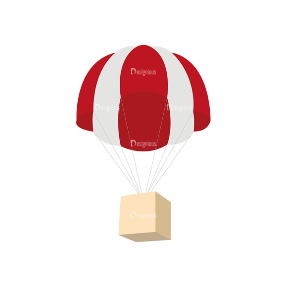 Mail Delivery Parachute Mail Delivery Parachute preview