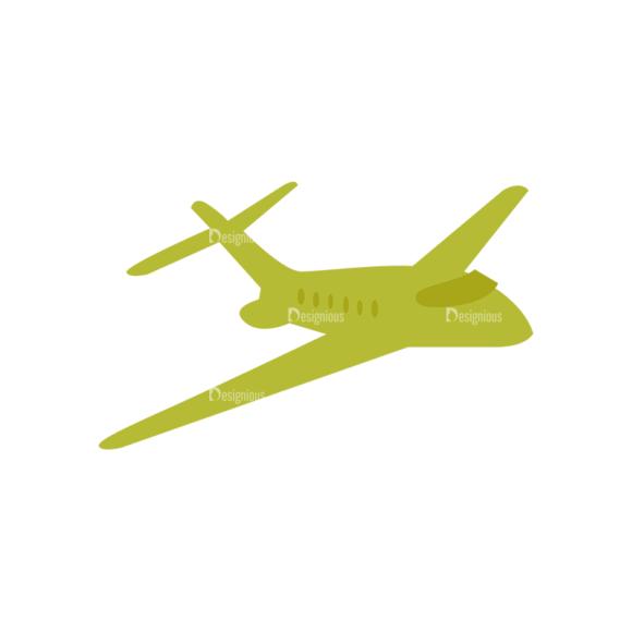 Mail Delivery Plaine Clip Art - SVG & PNG vector