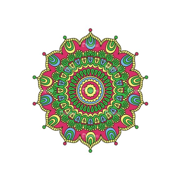 Mandala 04 Clip Art - SVG & PNG vector