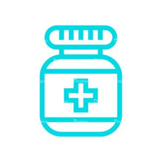 Medical Icon Set 02 Clip Art - SVG & PNG vector