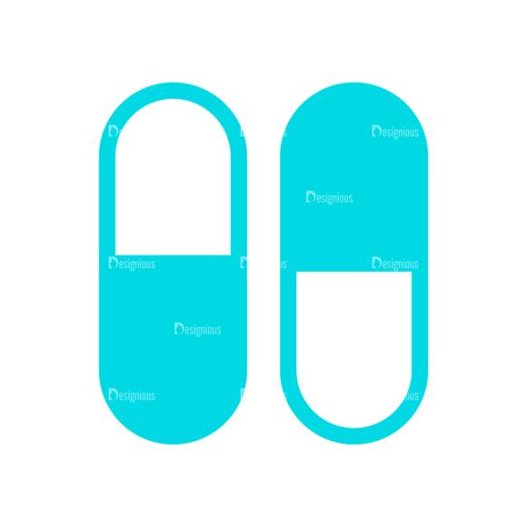 Medical Icon Set 09 Clip Art - SVG & PNG vector