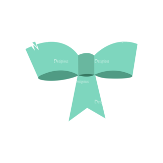 Ribbons Bow 11 Clip Art - SVG & PNG vector