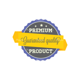 Simple Badges Premium Clip Art - SVG & PNG vector