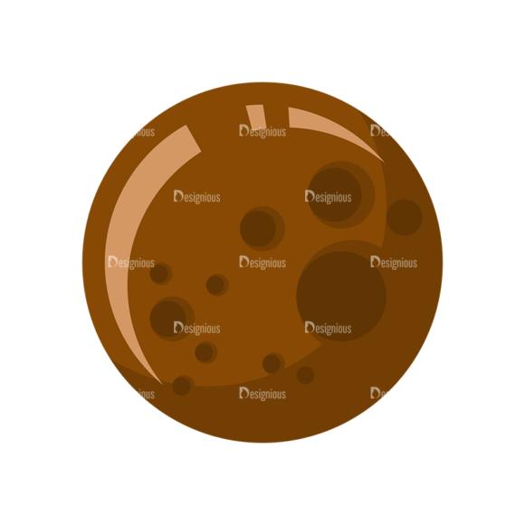 Space Icon Set Mars 5