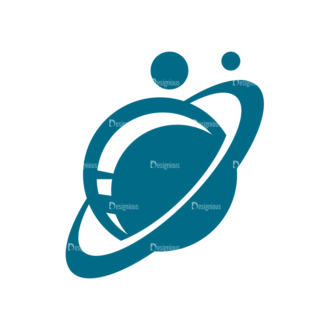 Space Icon Set Planet Clip Art - SVG & PNG vector