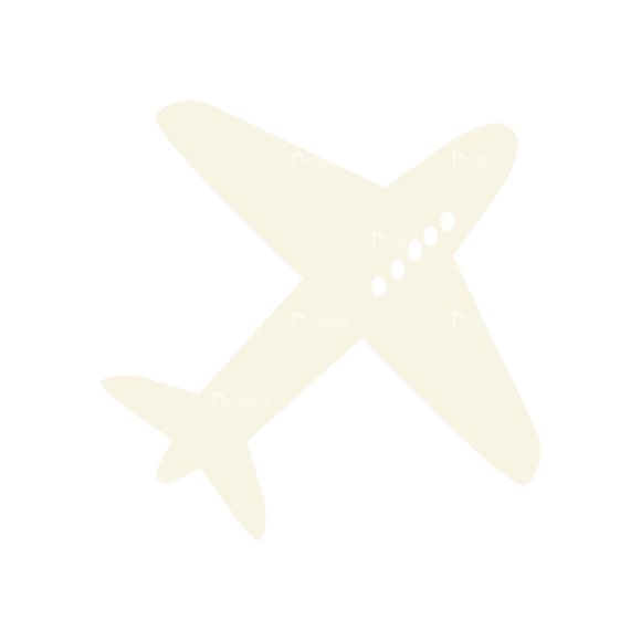 Airport Icons Vector Set 1 Vector Airplane 02 5