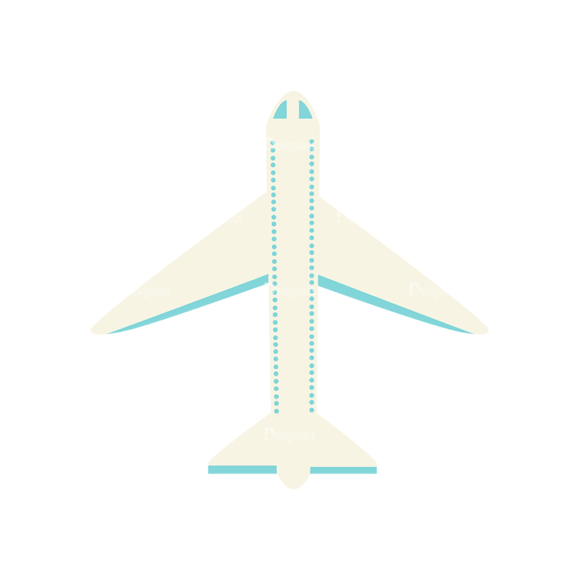 Airport Icons Vector Set 1 Vector Airplane 23 Clip Art - SVG & PNG vector