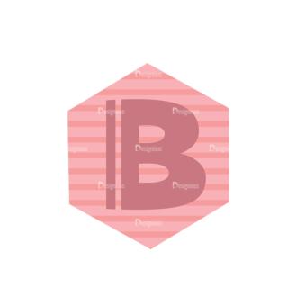 Alphabet Vector Set 1 Vector B Clip Art - SVG & PNG vector