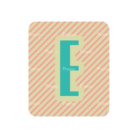 Alphabet Vector Set 1 Vector E Clip Art - SVG & PNG vector