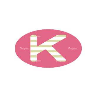 Alphabet Vector Set 1 Vector K Clip Art - SVG & PNG vector