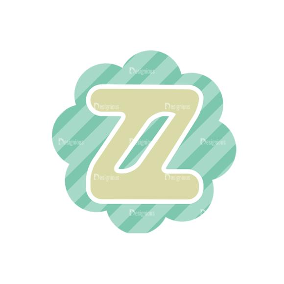 Alphabet Vector Set 1 Vector Z Clip Art - SVG & PNG vector