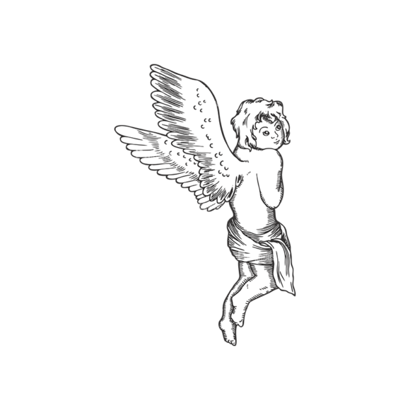 Angels Vector 1 6 Clip Art - SVG & PNG vector